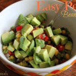 Easy Peasy Bean Salad