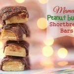 Taking A Break From Holiday Stress {Peanut Butter Shortbread Bars}