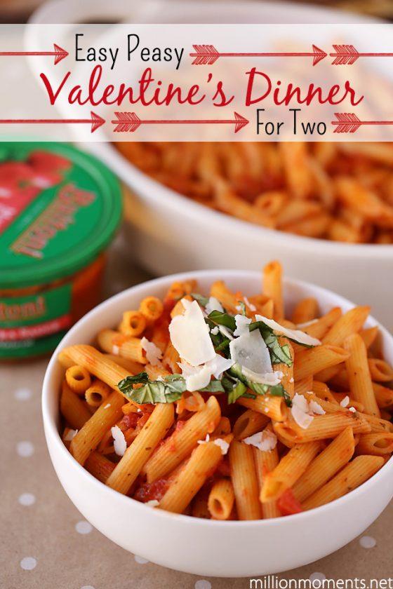 Easy Valentine's Day romantic dinner ideas #Valentines4All #shop #cbias