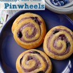 Blueberry Cream Cheese Pinwheels