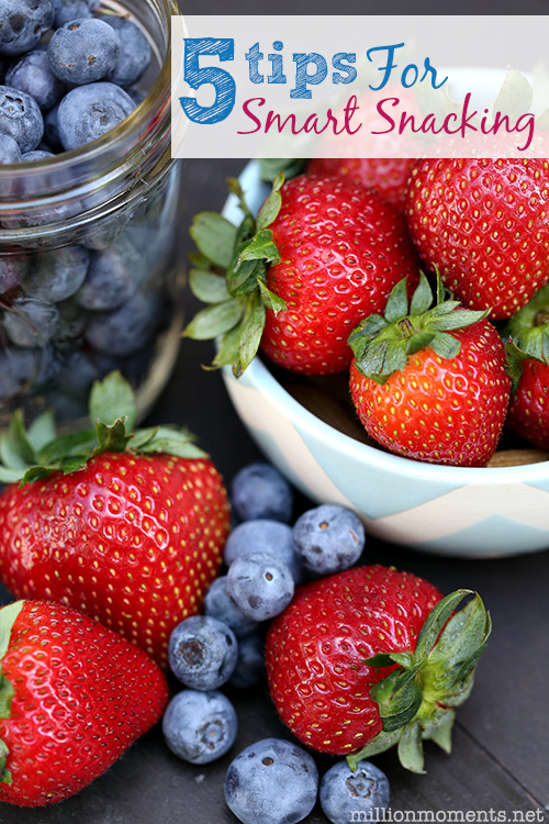 5 Tips For Smart Snacking Success