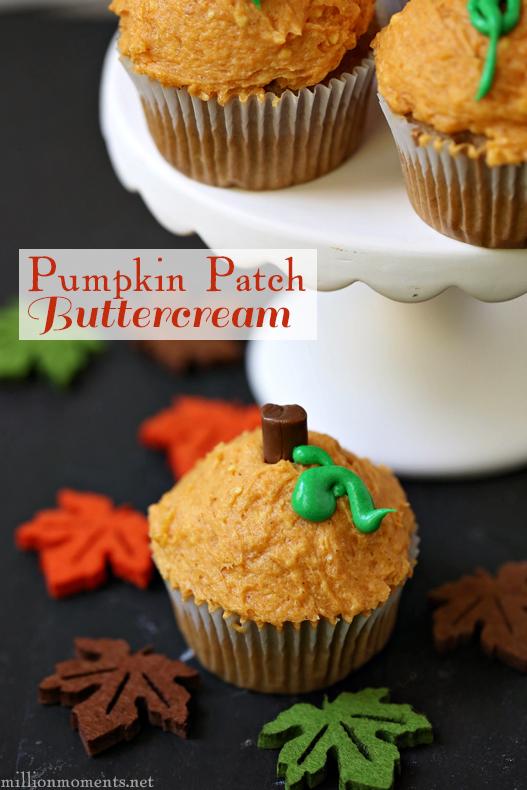 Easy pumpkin buttercream frosting