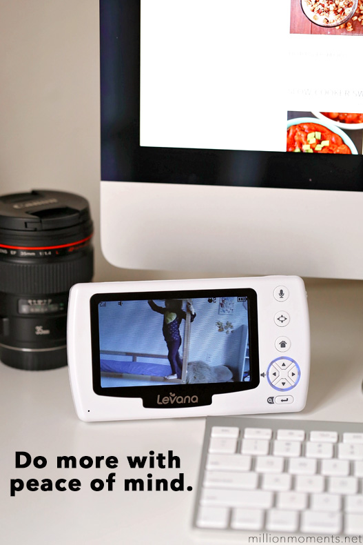 Doing More With Peace Of Mind {& Win A Video Monitor!}