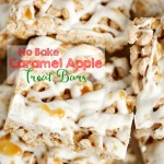 Caramel Apple Treat Bars
