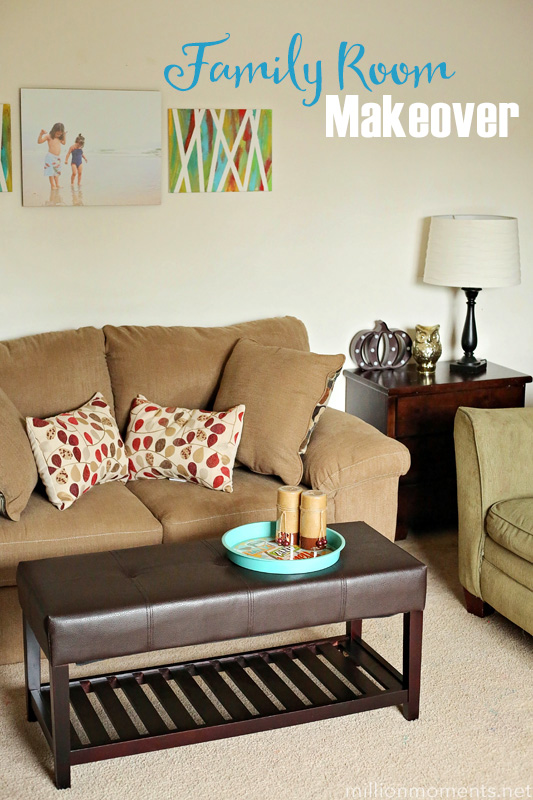 Our Family Room Makeover Reveal