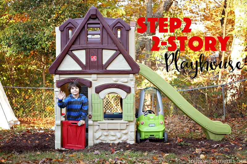 Making Memories With The Step2 2 Story Playhouse Amp Slide