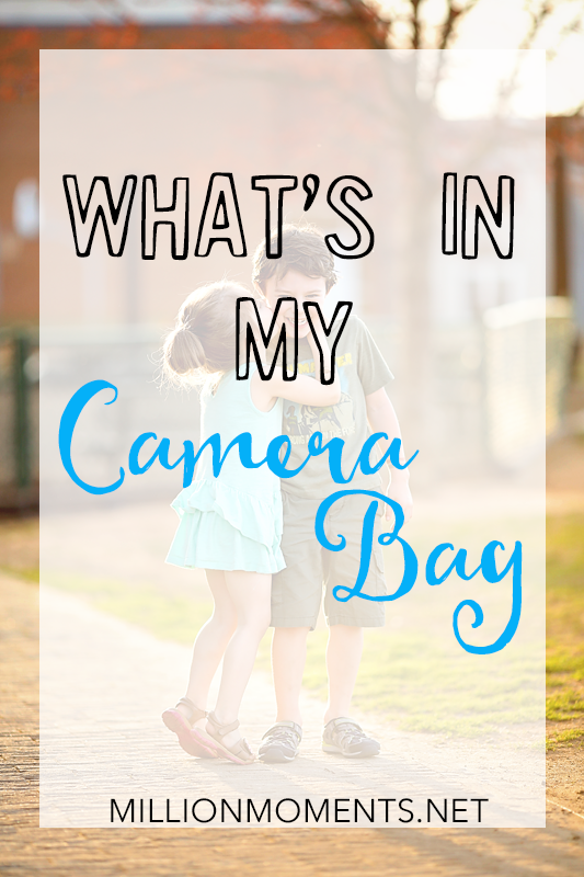 What's In My Camera Bag {Photography Gear}