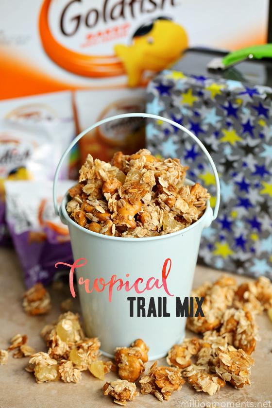 Tropical Goldfish Trail Mix