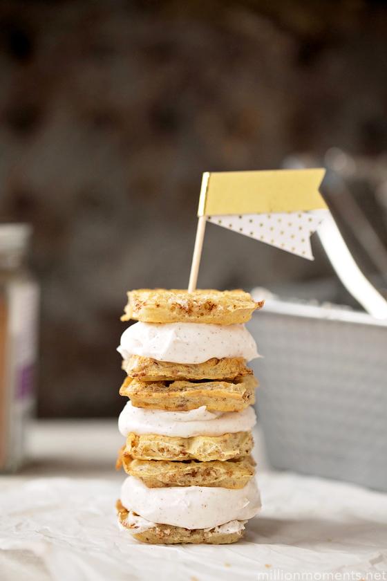 "Maple Vanilla ""Nice"" Cream Sandwiches"