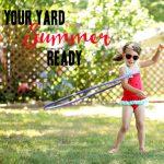 My Summer-Ready Yard + Easy Planter Box DIY
