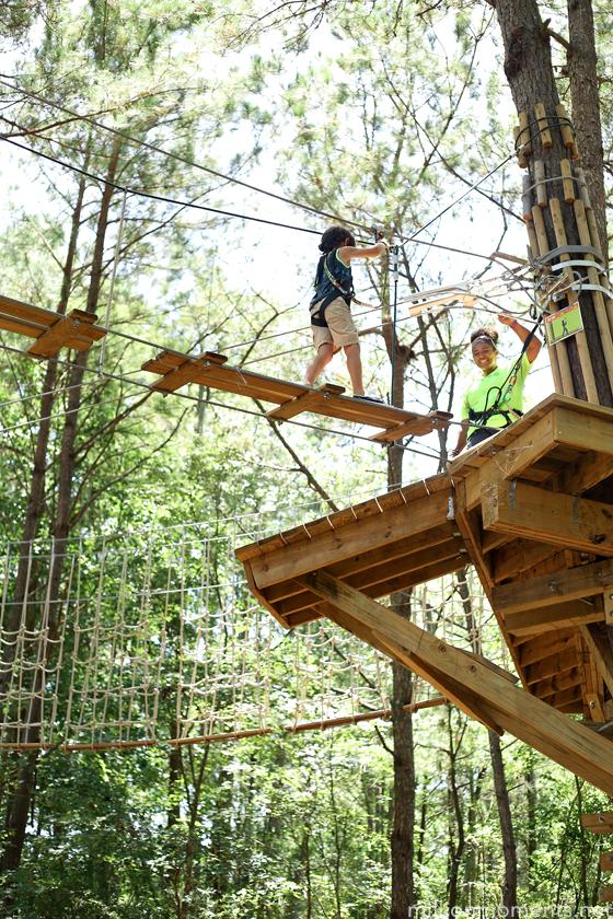 Go Ape Tree Top Adventure: Family Fun in Myrtle Beach
