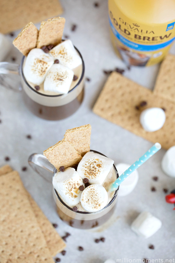 S'mores Iced Coffee Recipe