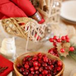 Halloween to Holiday Quick Tablescape