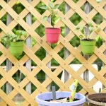 Simple DIY Space Saving Patio Garden