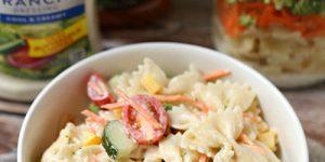 Take Along Pasta Salad {Two Great Varieties!}
